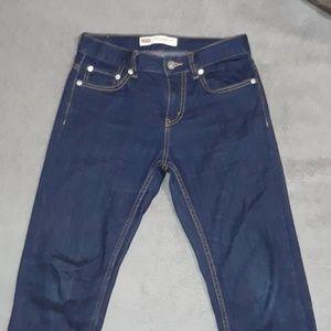 Dark blue Levi jeans
